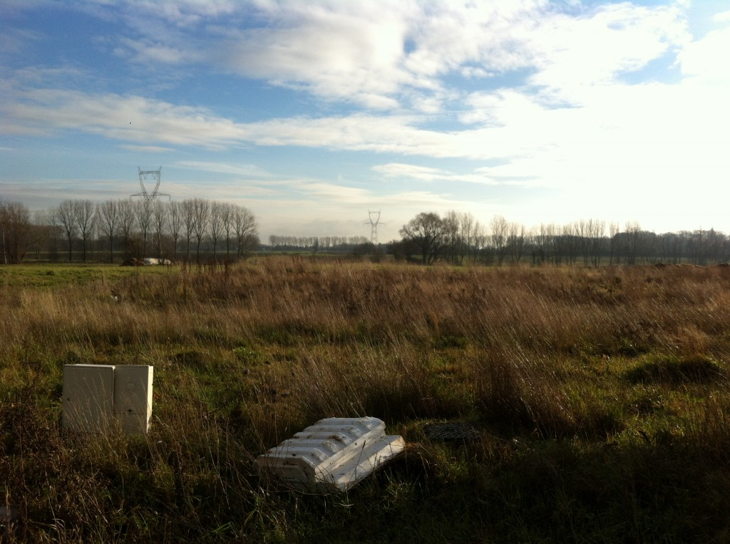Photos du terrain construire avec maisons d 39 en flandre for Sondage terrain avant construction