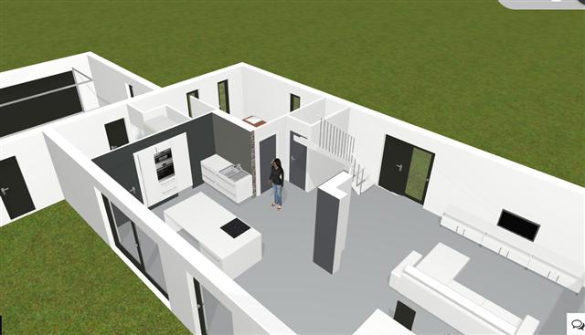 Plans de maison en 3d construire avec maisons d 39 en flandre for Conception 3d maison