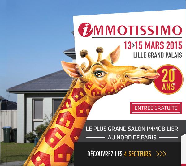 Salon immotissimo construire avec maisons d 39 en flandre - Salon immobilier lille ...