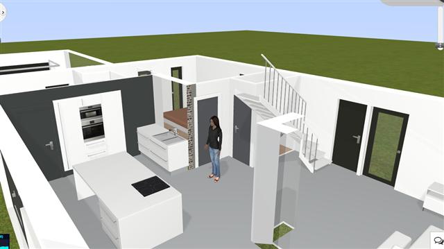 plans de maison en 3d construire avec maisons d 39 en flandre. Black Bedroom Furniture Sets. Home Design Ideas