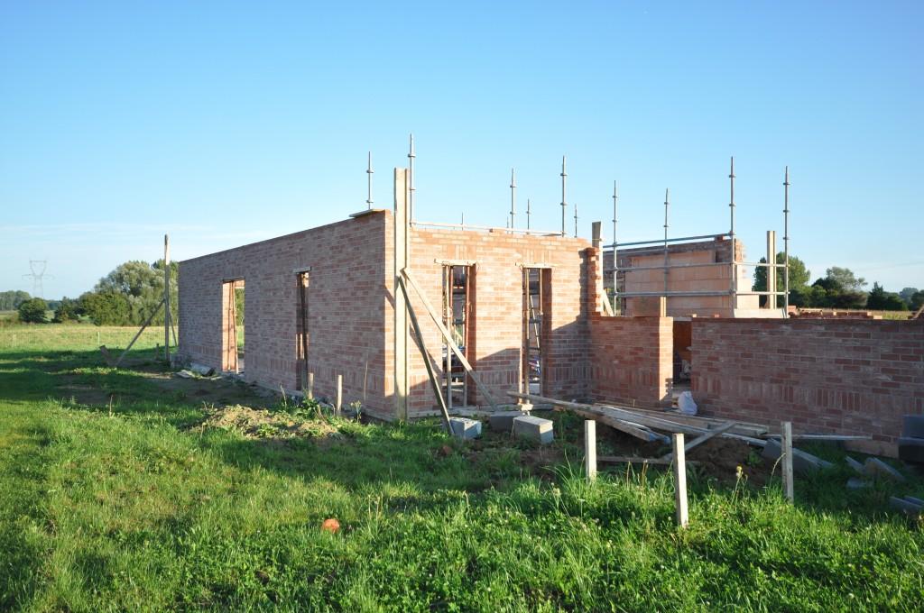 4 semaine de ma onnerie construire maisons flandre for Constructeur maison lille